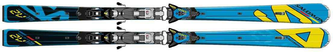 SALOMON 2V RACE POWERLINE + Z14 SPEED 2013