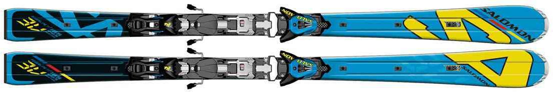 SALOMON 3V RACE POWERLINE + Z14 SPEED 2013