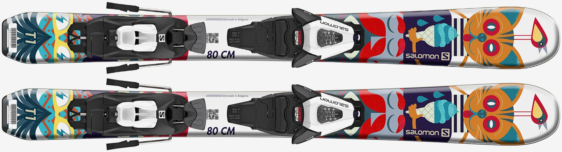 SALOMON T1 JR XS AND C5 2021